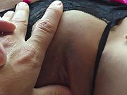 Hubby luvs my vulva and my boobies and i love to display them off