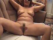 Super-steamy striptease show made by a horny milf