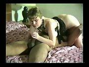 Slut wife throating a big black cock in a sixty nine position black on white amateur porn vid